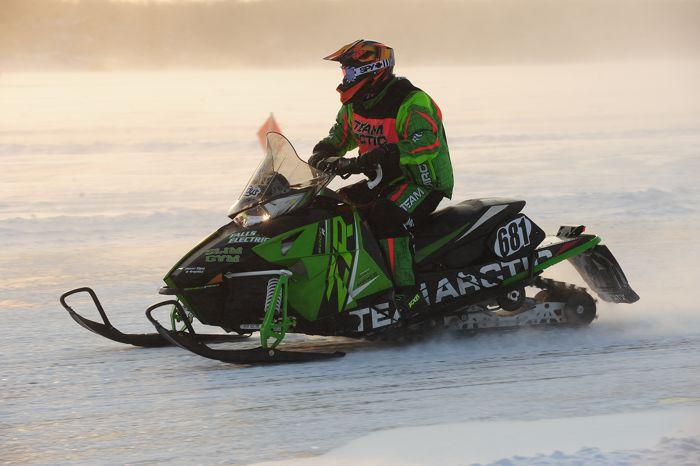 Team Arctic Cat's Chad Lian. Photo by ArcticInsider.com