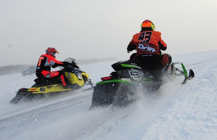 Team Arctic's Logan Christian at Detroit Lakes. Photo: ArcticInsider.com