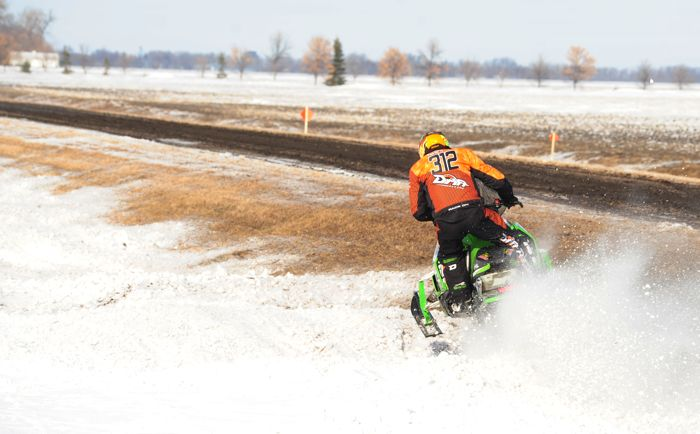 Team Arctic's Zach Herfindahl won the 2015 Grafton USXC ditch race. Photo: ArcticInsider.com