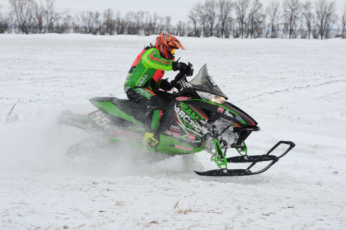 Team Arctic Cat's Logan Kilichowski won Grafton. Photo by ArcticInsider.com