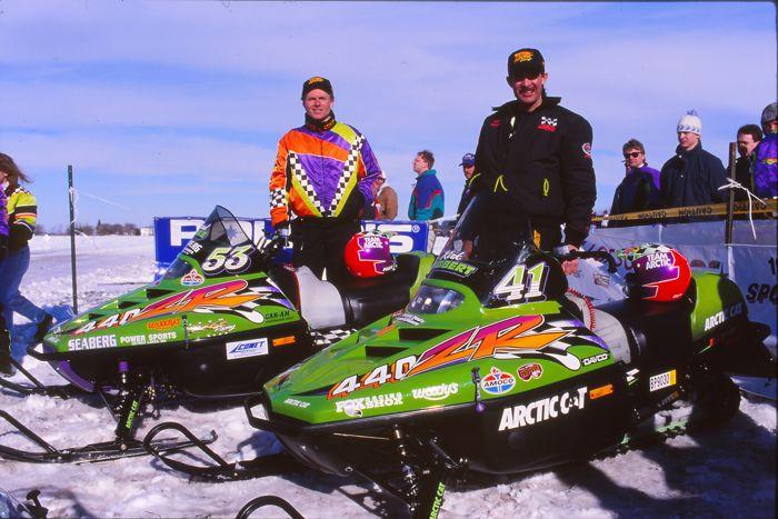 Team Arctic's Brad Pake and Kirk Hibbert. Photo by ArcticInsider.com