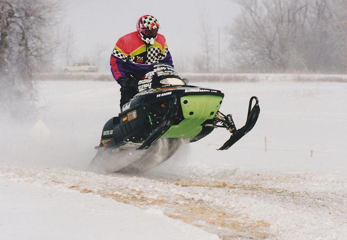 Team Arctic Racing legend Brad Pake. Photo by ArcticInsider.com