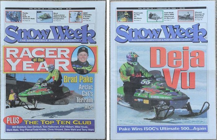 Team Arctic's Brad Pake on Snow Week magazines