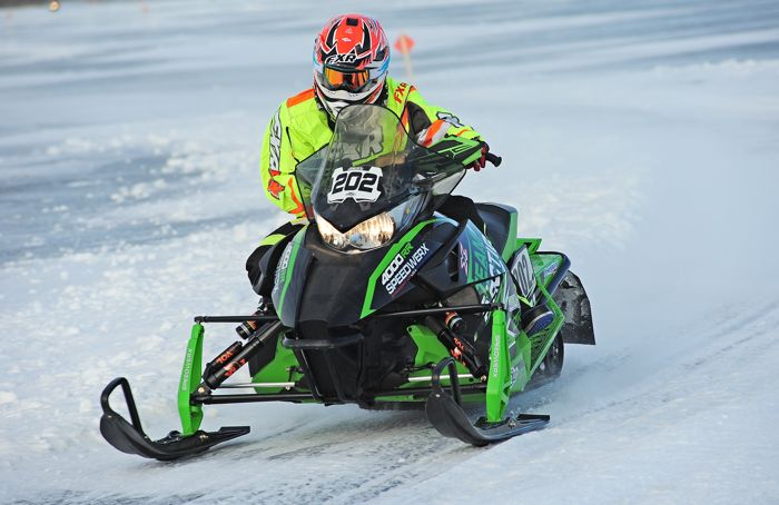 Team Arctic Cat/Speedwerx's Hunter Houle. Photo by ArcticInsider.com