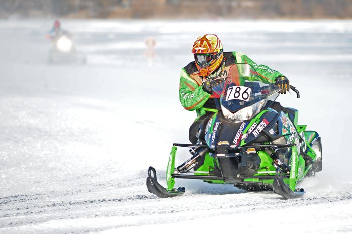 Team Arctic Cat's Tyler Brown. Photo by ArcticInsider.com