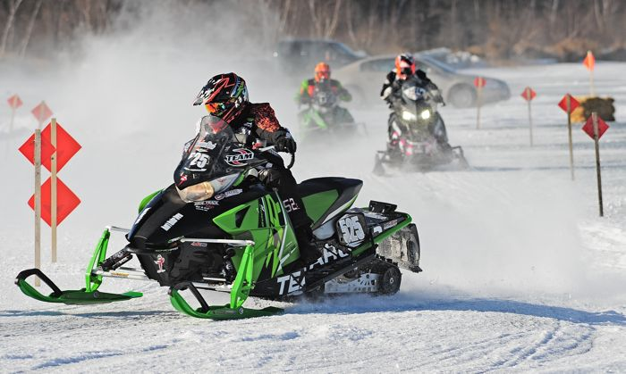 Team Arctic Cat's Dylan Stevens. Photo by ArcticInsider.com