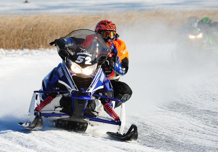 Yamaha XC racer Re Wadena. Photo by ArcticInsider.com