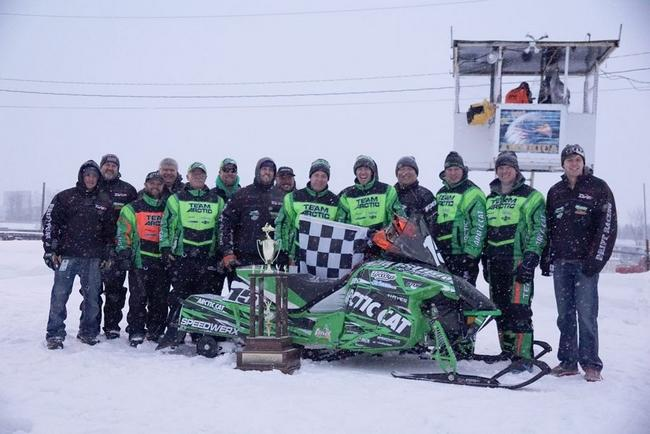Team Arctic wins 2015 Soo 500 Enduro