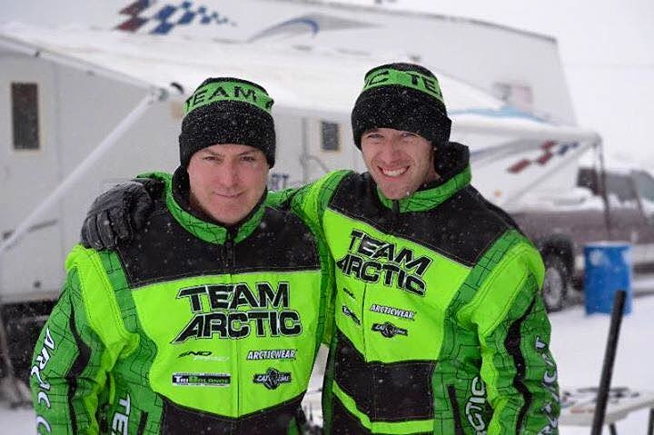 Team Arctic's Brian Dick and Wes Selby win the 2015 Soo 500 Enduro.