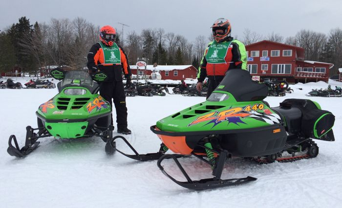 2015 Snowmobile Hall of Fame & Ride With The Champs. Photo by ArcticInsider.com
