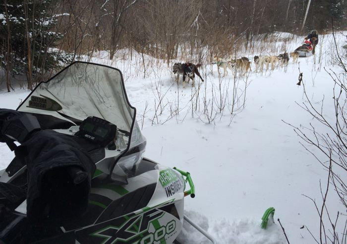 February 2015 Snowmobile trip on Minn. North Shore. Photo by ArcticInsider.com
