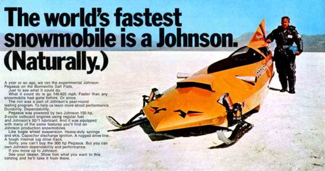 TGIF: The Big Johnson (snowmobile)