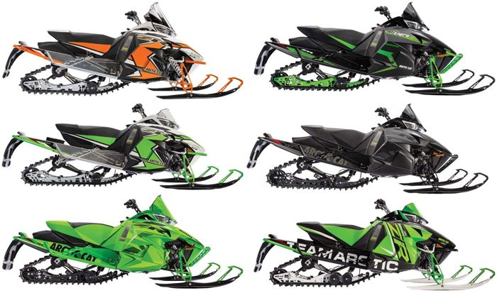 2016 Arctic Cat ZR model snowmobiles