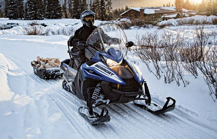 2016 Arctic Cat Bearcat snowmobile