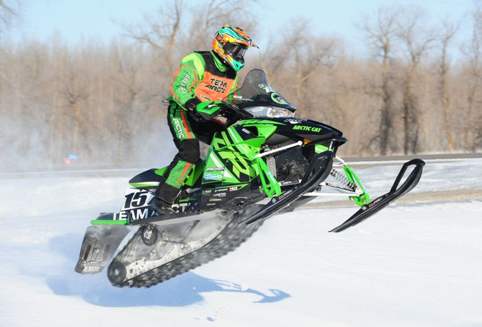 Team Arctic's Wes Selby won the TRF 300 XC. Photo by ArcticInsider.com