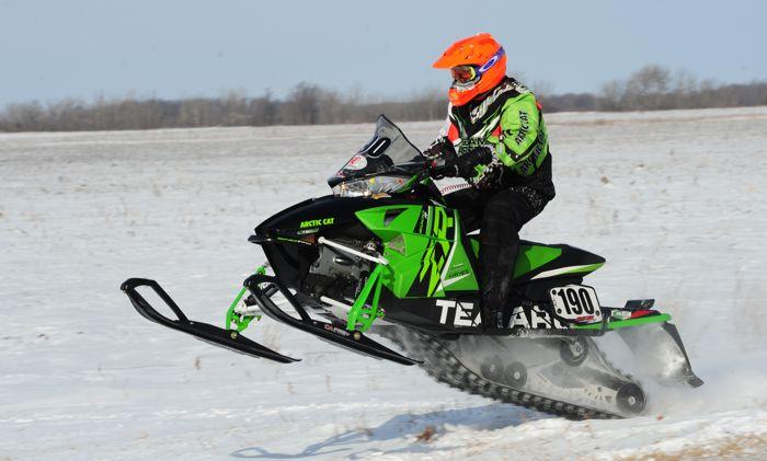 2015 USXC TRF 300 Team Arctic Cat. Photo by ArcticInsider.com