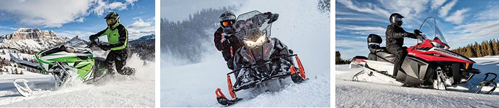 2016 Arctic Cat snowmobile line