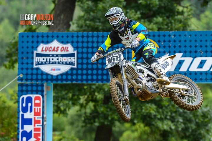 Tucker Hibbert is a Pro Motocrosser on a 4-stroke