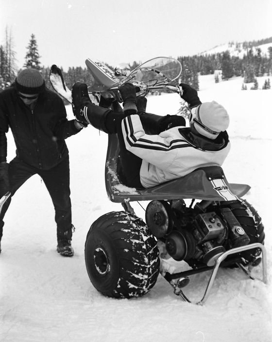 TGIF: Funny snowmobile trike posted by ArcticInsider.com