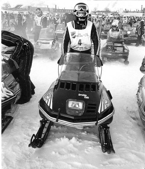 Team Arctic's Brian Nelson, 1978 Winnipeg I-500 winner. Photo from CJ Ramstad Archives.