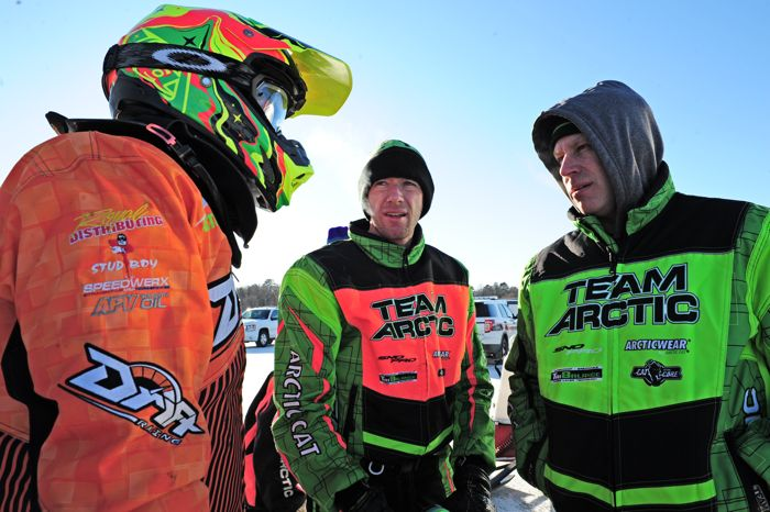 Team Arctic's Zach Herfindahl, Wes Selby & Mike Kloety. Photo: ArcticInsider.com