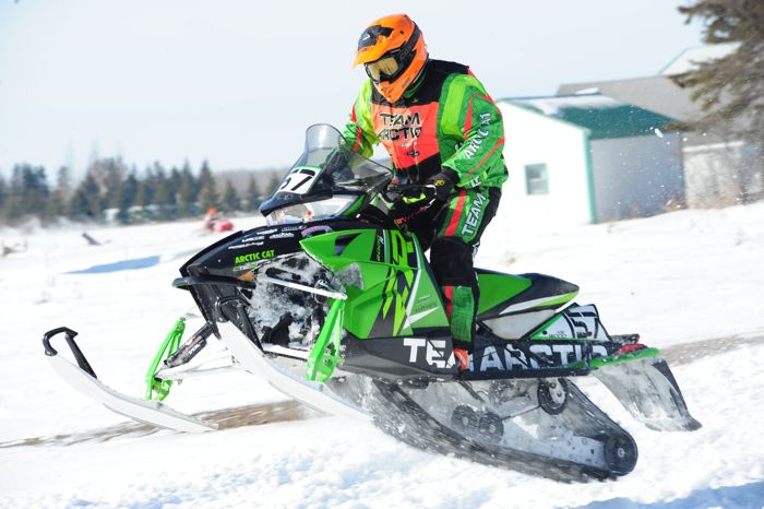 Arctic Cat ATV Engineer Joe Wood races his ZR6000R XC in XC. Photo by ArcticInsider.com