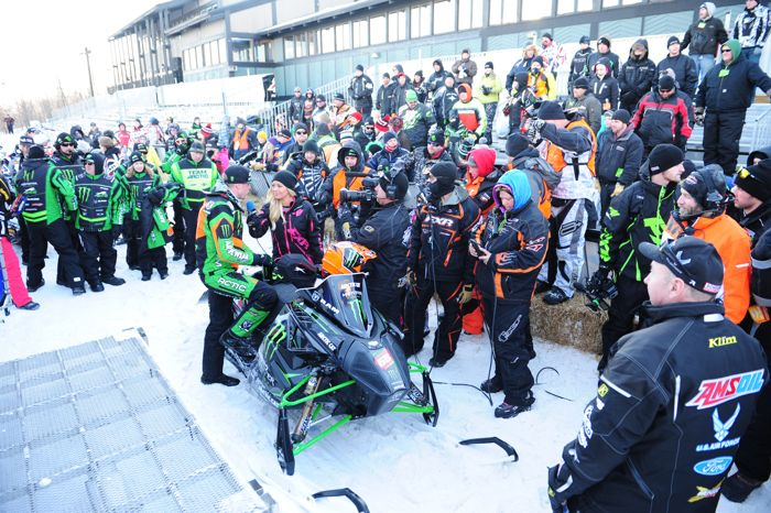 Team Monster/Arctic Cat's Tucker Hibbert (almost) won everything in 2015. Photo by ArcticInsider.com
