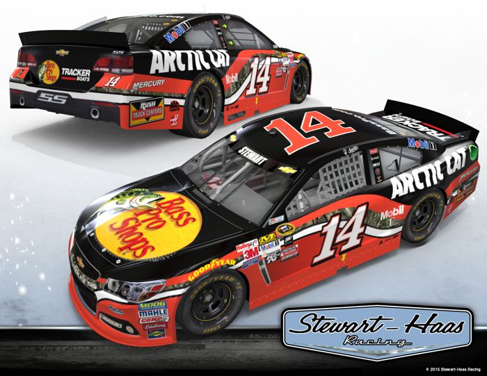 The Tony Stewart Arctic Cat/Bass Pro NASCAR Chevrolet