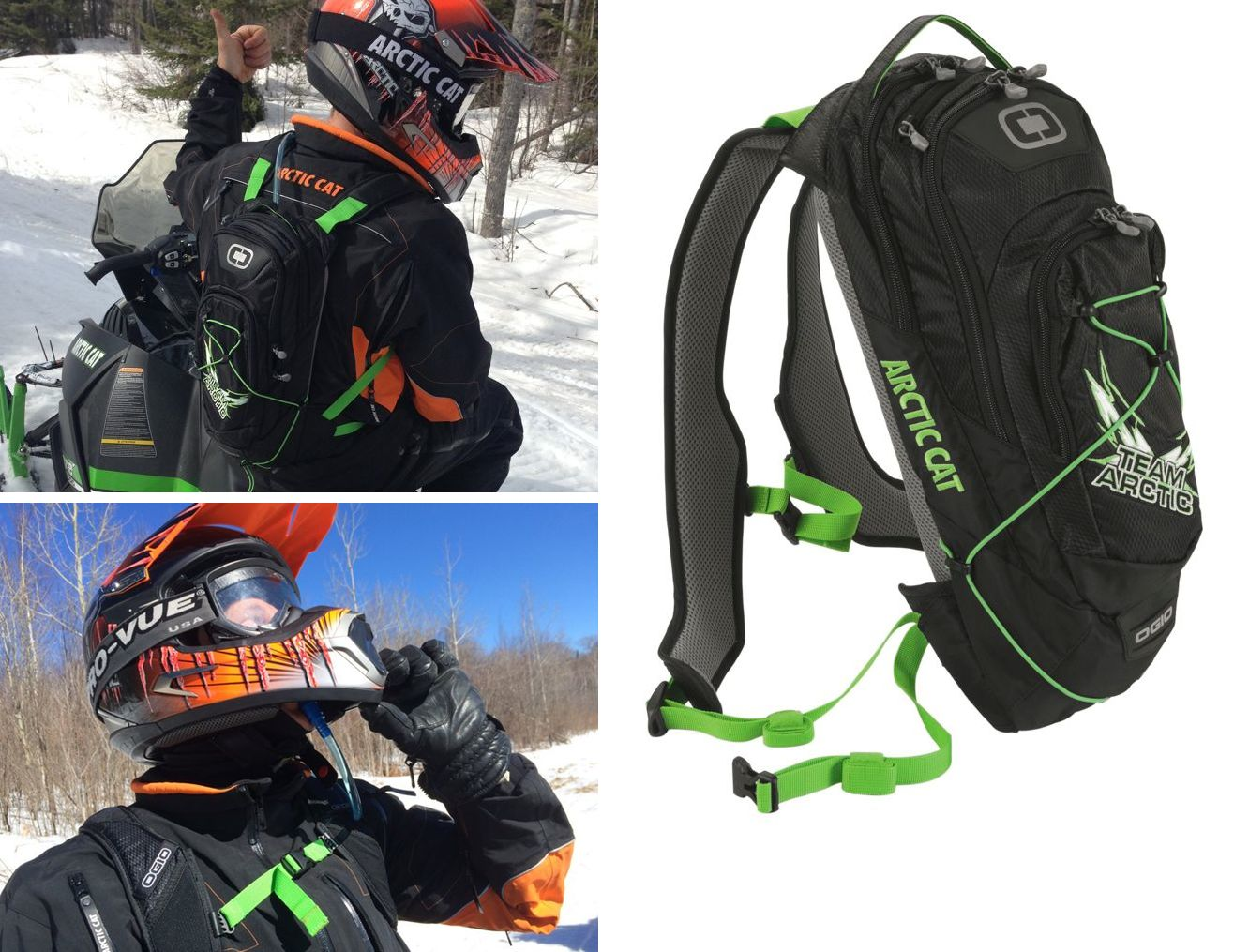Tested: Arctic Cat Hydration Pack