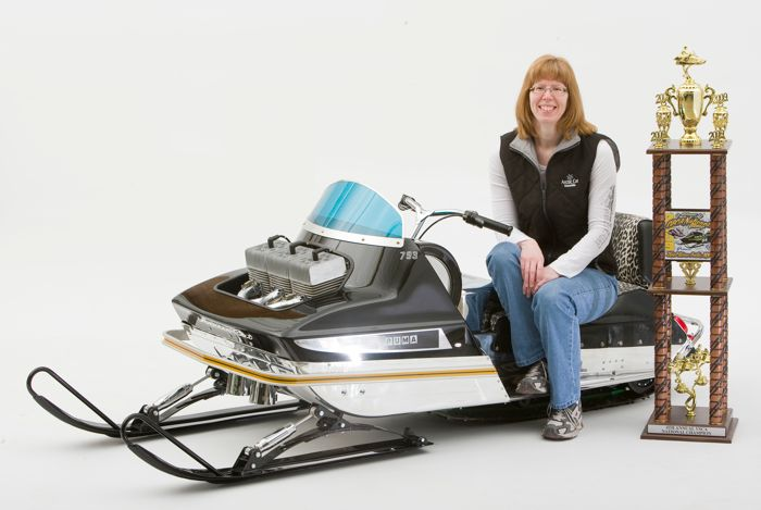Nancy Ische's 1970 Arctic Cat 793 Puma. Photo: ArcticInsider.com