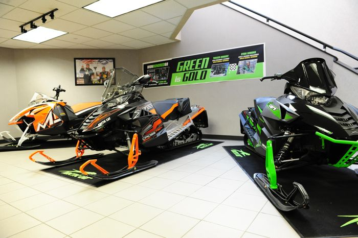 At Arctic Cat in Thief River Falls. Photo by ArcticInsider.com