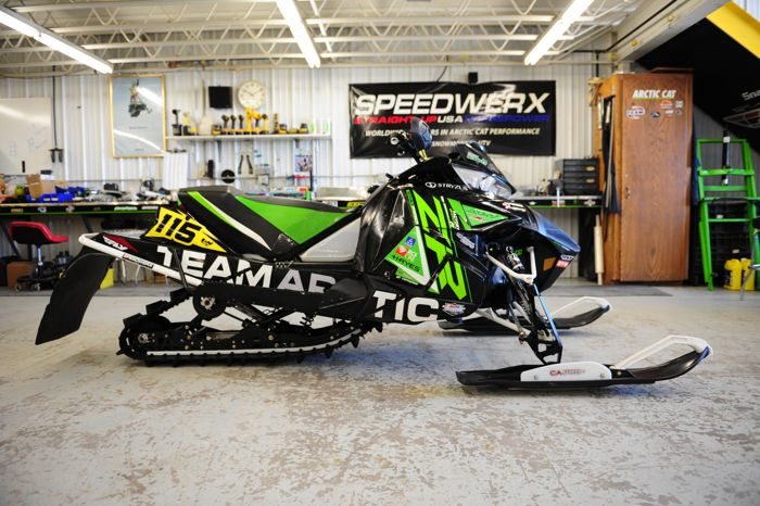 Team Arctic racer Trent Wittwer's ISOC winning Arctic Cat ZR6000RSX. Photo by ArcticInsider.com