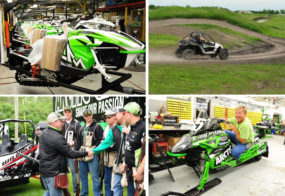 This week at Arctic Cat.