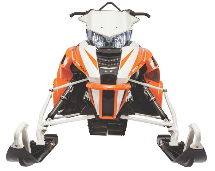 Arctic Cat AMS A-Arm and spindle kit for ProClimb snowmobiles.