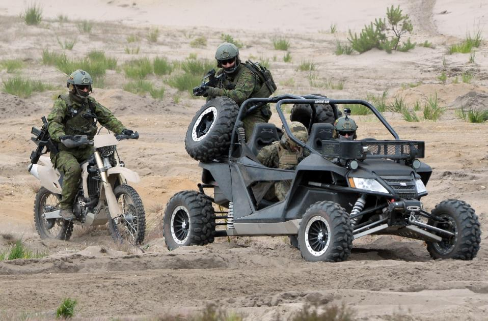 TGIF: Military Arctic Cat Wildcat