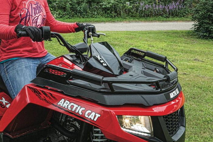 Arctic Cat XR ATV Rack Extension posted by ArcticInsider.com