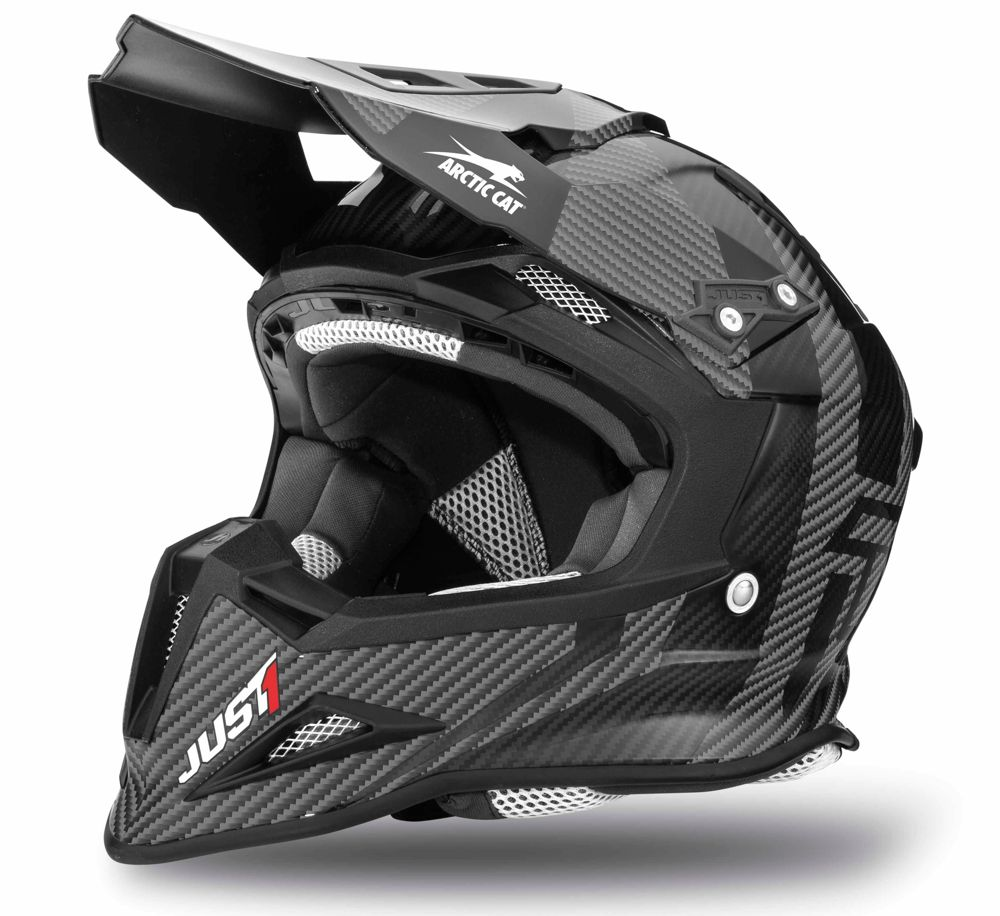 New for 2016: Arctic Cat MX Sno Cross Helmet from JUST 1