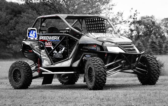 Alex Fortune's custom Arctic Cat Wildcat for 2015. Photo by Iflyphotography.