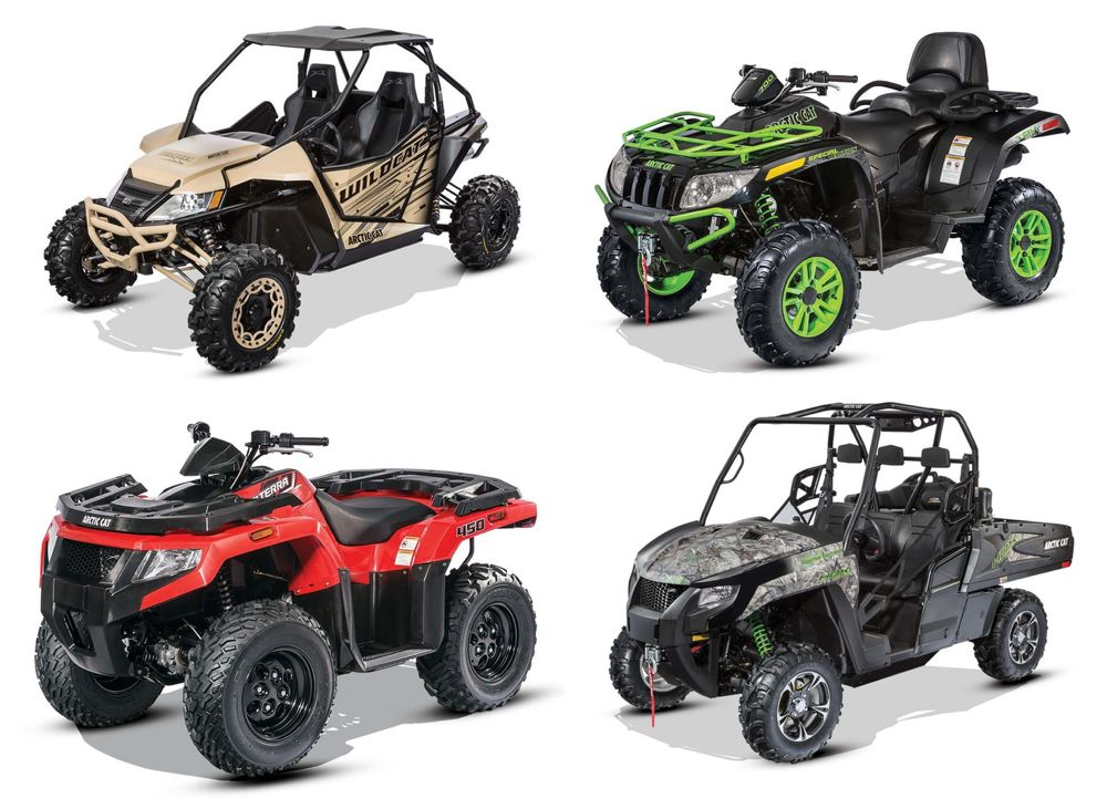 New for Arctic Cat ATV and ROV for 2016. ArcticInsider.com