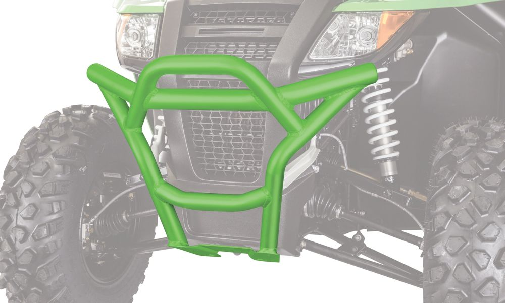 Aluminum front bumper for Arctic Cat Wildcat.