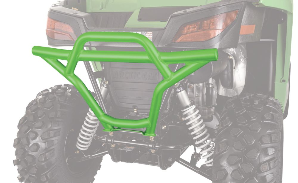 Aluminum rear bumper for Arctic Cat Wildcat.
