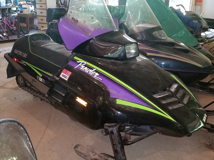 Siebens Family Auction of Arctic Cat stuff.