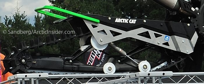 Arctic Cat SVX Single-Ski Snow vehicle shown at Hay Days.