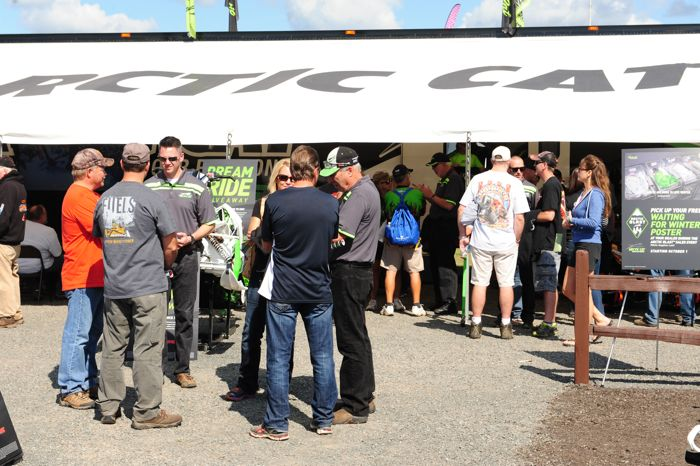 Hay Days 2015 report channeling the Arctic Cat perspective. Photo by ArcticInsider, defended by lawyers.