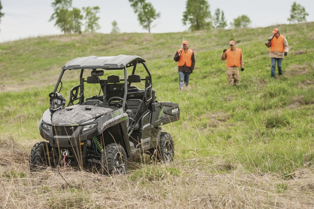 Arctic Cat partners with Patriots & Heroes Outdoors.