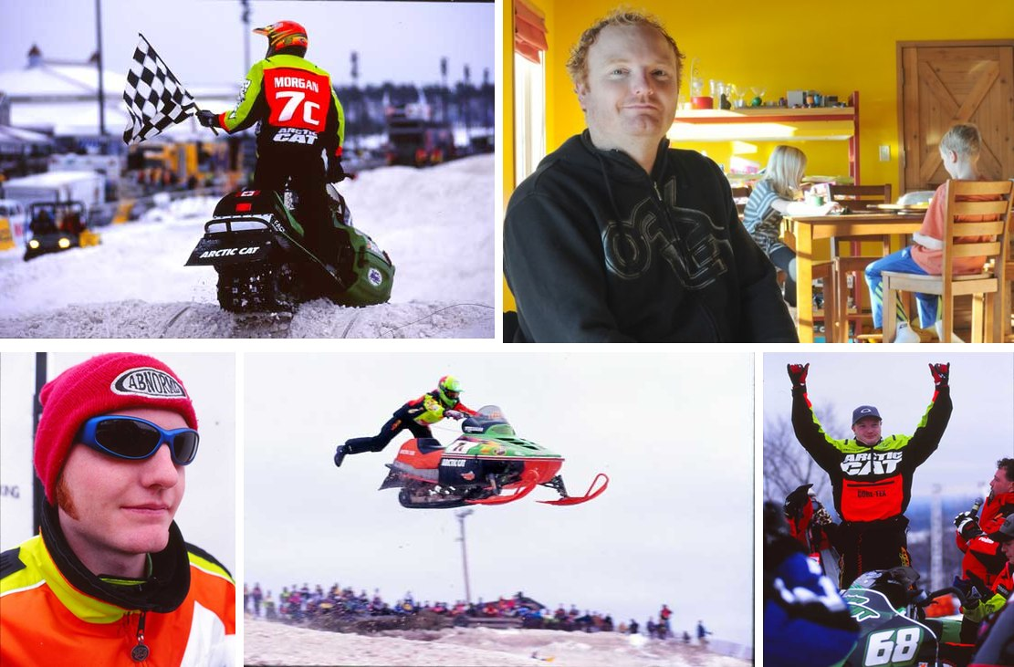 Blair Morgan, snocross Superman.