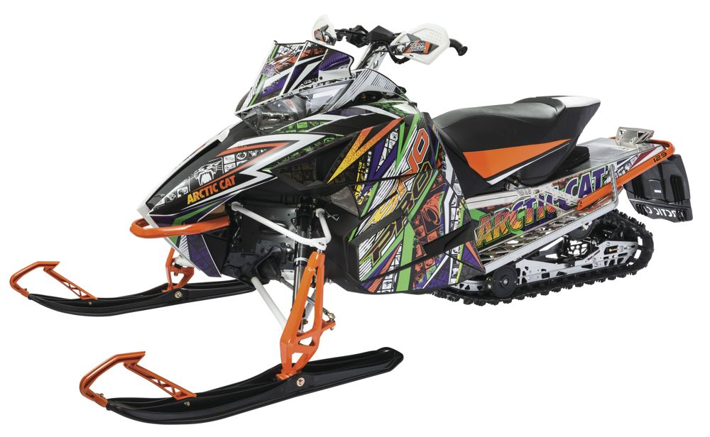 2016 Cat Wrap graphics packages from Arctic Cat.