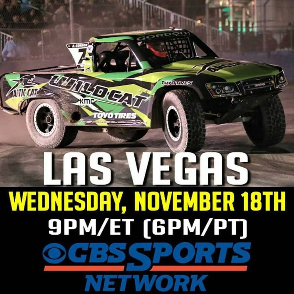 Arctic Cat Wildcat at SST Series tonight on CBS.