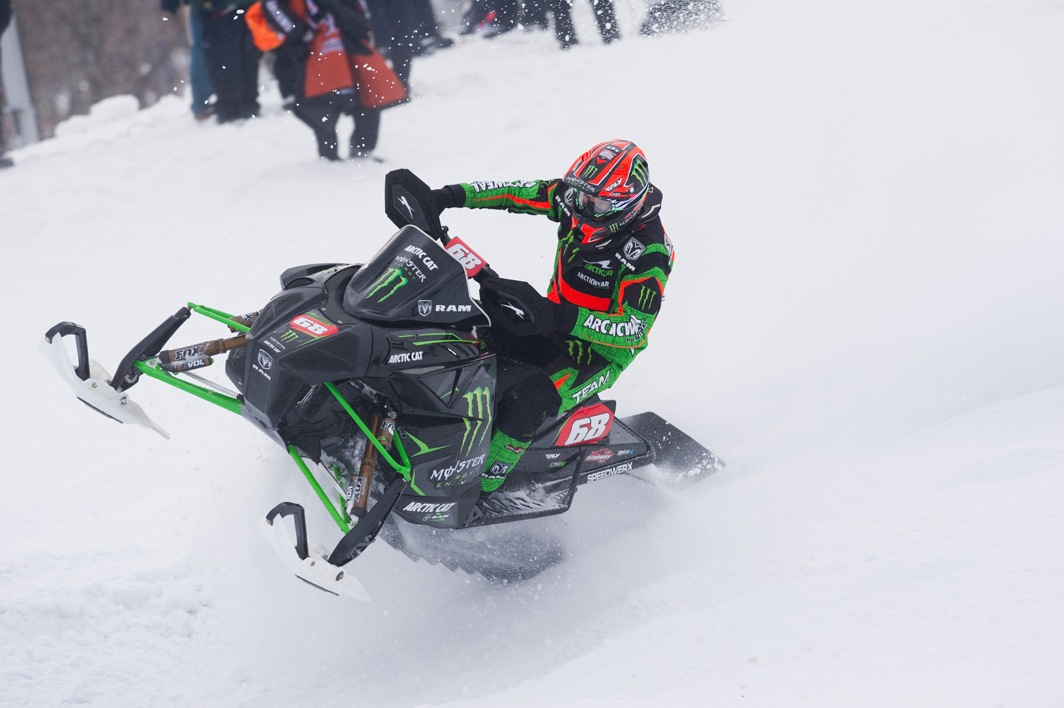 Tucker Hibbert, Team Monster and Arctic Cat. Photo by John Hanson.