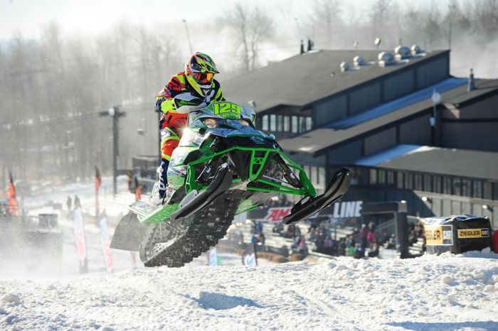 Team Arctic Cat's Eric Downs. Photo by ArcticInsider.com